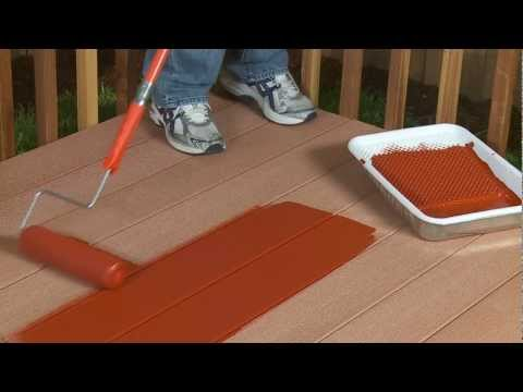 BEHR Composite Deck & Fence Stain QR Code.mov