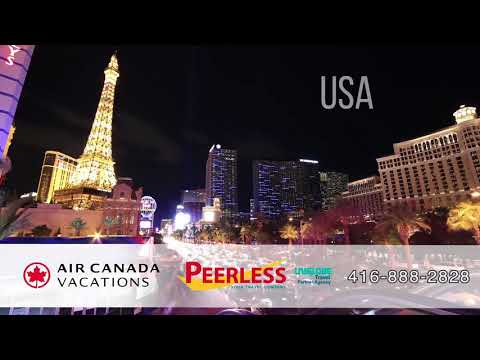 Air Canada Vacations x Peerless Travel