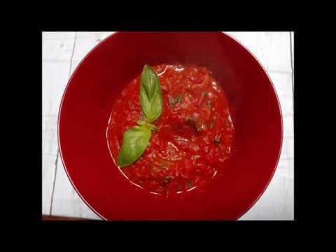 Tomato Basil Marinara || How To Make Marinara Sauce|| Italian canned tomatoes || Episode 79