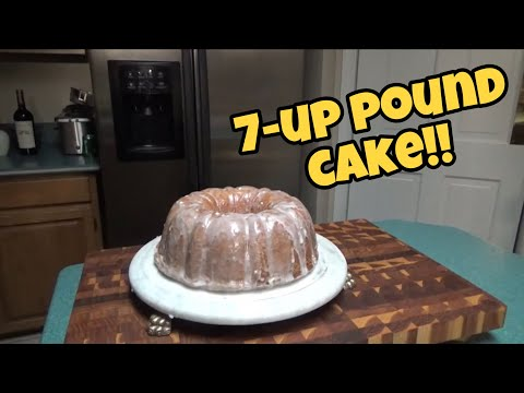 7-up Pound cake from scratch!!!