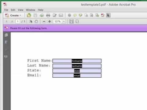 Learn How To Fill PDF Forms With Excel Data - Free Excel Add-in