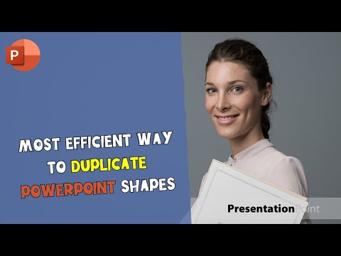 Most Efficient Way to Duplicate PowerPoint Shapes