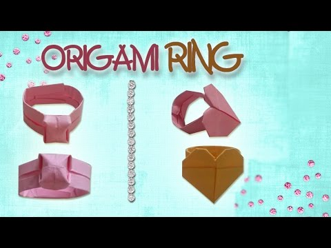 Origami Easy - Origami Ring (Diamond/Heart Ring)