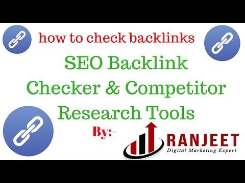 How to check backlinks |  Free backlink checker tool [Hindi]