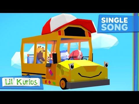 The Wheels on the Bus | Nursery Rhymes & Kids Songs | Lil Kurios