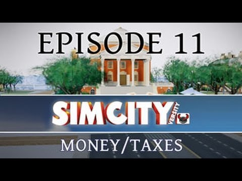 SimCity 5: Money Through Taxes