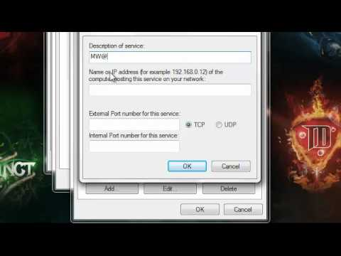 How to get open nat type for mw2 pc
