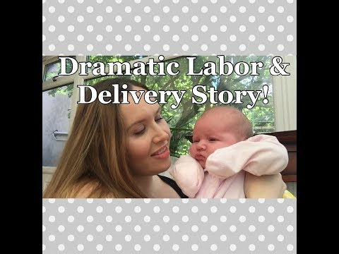 MY (DRAMATIC!) LABOUR & DELIVERY STORY - BABY NUMBER 2 | Labor & Delivery | My Fashion Cupboard Baby