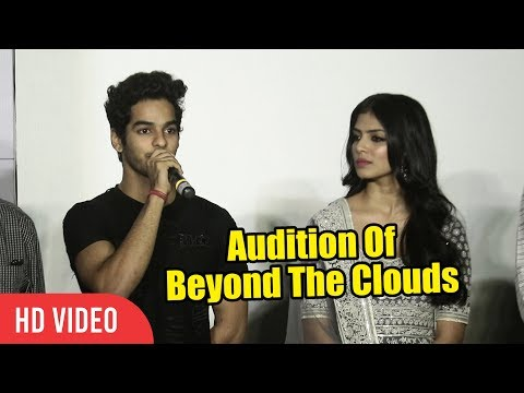How Did Ishaan Khattar Got This Movie   Auditions Of Beyond The Clouds