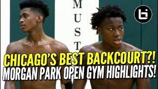 Ayo Dosunmu + Adam Miller: Midwest's Best Backcourt?! Morgan Park Open Gym Highlights!