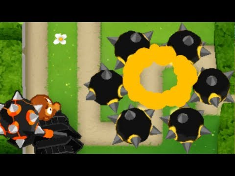 This Map Turns The Juggernaut From A Bad Tower To A Good Tower (Bloons TD 6)