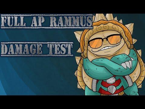 Full AP Rammus Damage Test