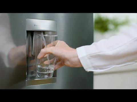 LG Bottom Mount Fridge - Non-Plumbed Water Dispenser