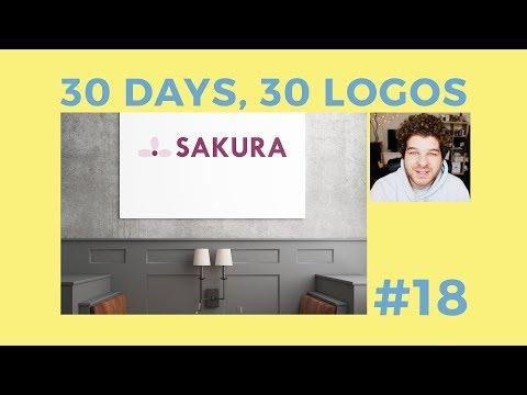 30 Days, 30 Logos #18 - Sakura