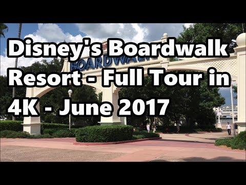 Disney's Boardwalk Resort | Full Tour in 4K | June 2017 | Walt Disney World