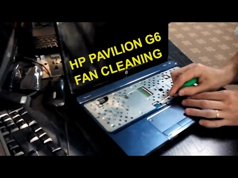 hp pavilion g6 fan cleaning