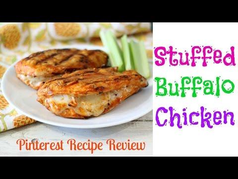 Stuffed Buffalo Chicken | Pinterest Recipe Review