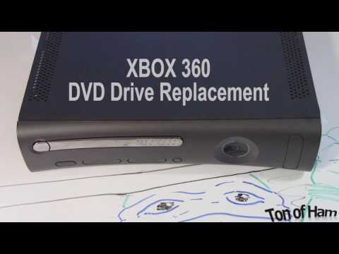 Xbox 360 Tutorial: How to Replace DVD Drive Part 1