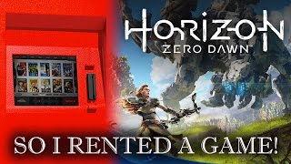 So I Rented A Game | Horizon Zero Dawn | Let's Play It LIVE