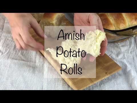 The Best Homemade Dinner Rolls - Amish Potato Rolls