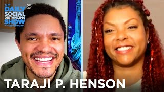 Taraji P. Henson - Free Therapy for Underserved Communities   The Daily Social Distancing Show
