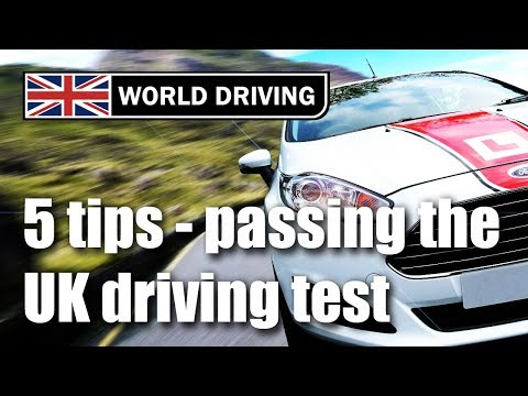 Secret to passing your UK driving test 2018? Tips for passing the driving test