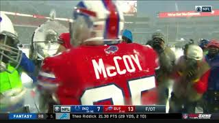 Lesean McCoy Game-Winning Touchdown in the Snow! | Colts vs. Bills | NFL
