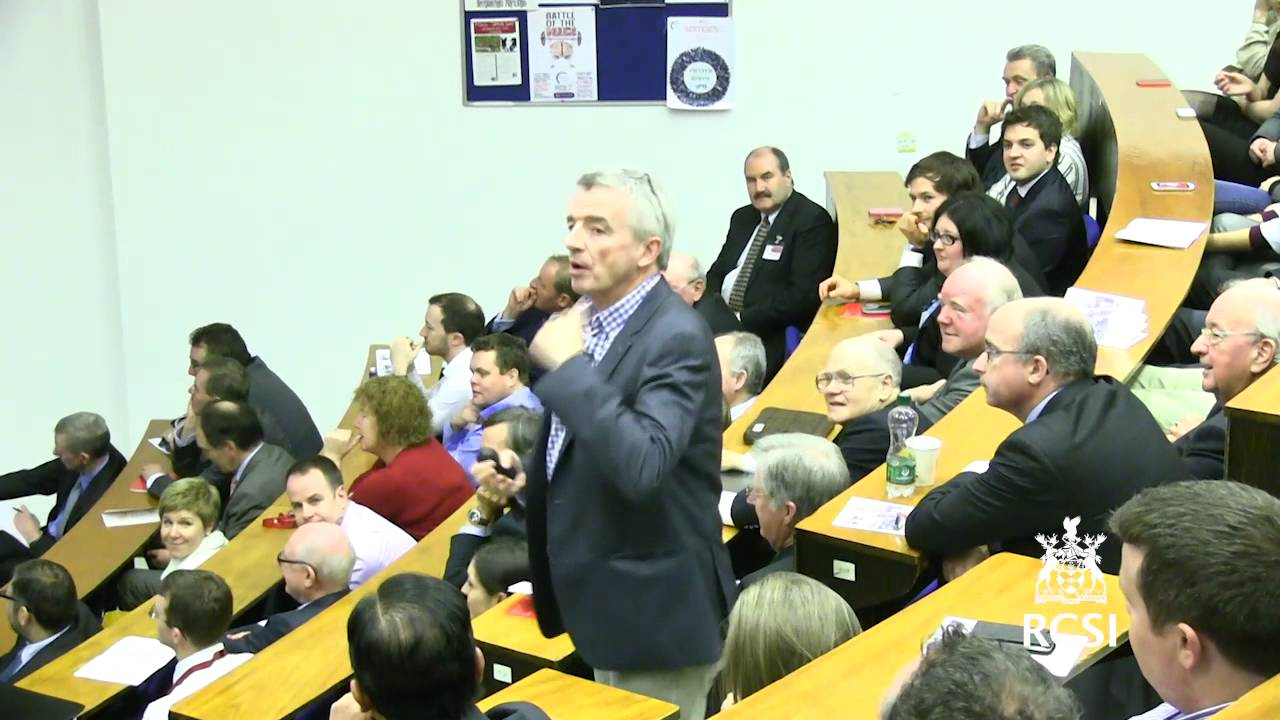 "24th Carmichael Lecture - ""Ryanair - Always Getting Better"" by Michael O'Leary, CEO of Ryanair"