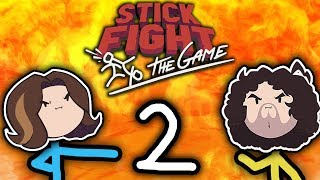 Stick Fight: Cartoon Violence! - PART 2 - Game Grumps VS