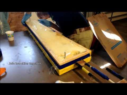 Fiberglass Rotor Blade Assembly