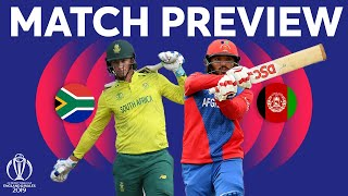 Match Preview - South Africa vs Afghanistan | ICC Cricket World Cup 2019