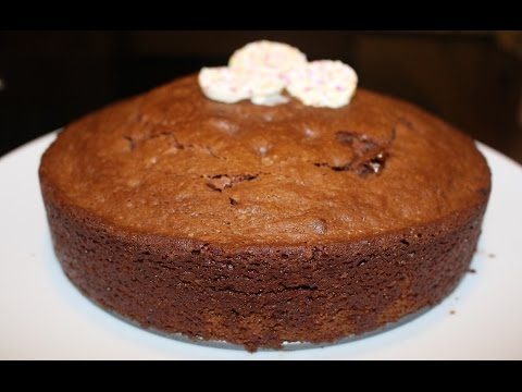 Eggless Chocolate Walnut Brownie| How To Make Eggless Cake Recipe By Harshis Kitchen