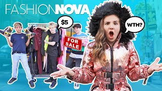 My Crush REACTS to Fashion Nova Outfits Challenge **HE SOLD MY CLOTHES Prank?** 🥺💔| Piper Rockelle