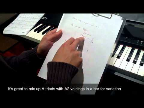 Live Piano Lesson - Relative Major and Minor chords - Piano Lessons Online