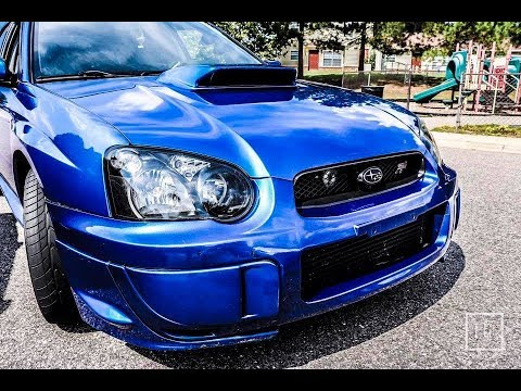Subaru wrx sti 20Hour Car Wash and Interior Clean with Decal Removing