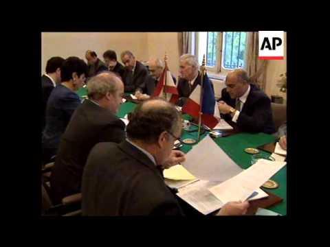 LEBANON: FRENCH PRESIDENT JACQUES CHIRAC VISIT (2)
