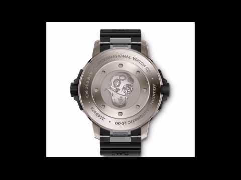IWC AQUATIMER AUTOMATIC 2000 WATCH Ref. IW358002