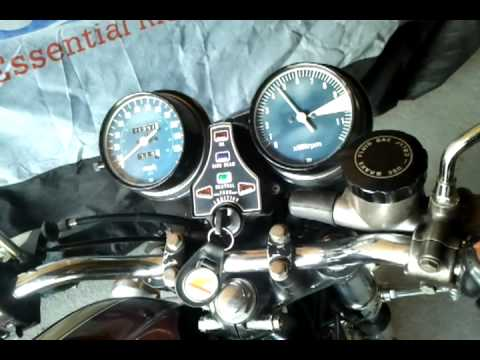 1977 Honda CB550F Super Sport - Sound