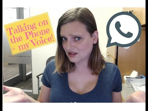 Talking on the Phone with my Voice (MTF Transgender)
