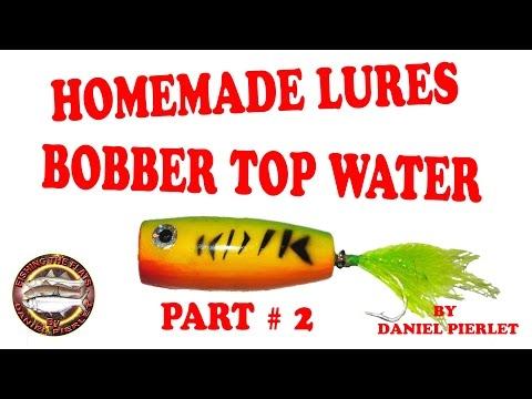 DIY - How to Make a Homemade Bass lures Part # 2 By Daniel Pierlet - HD # 50