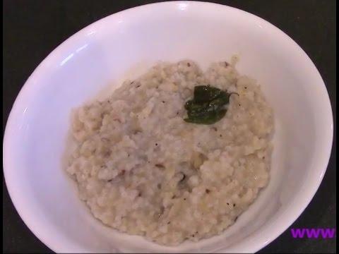 வரகு பொங்கல் -varagu pongal How to cook varagu pongal? (வரகு பொங்கல் செய்வது எப்படி?)
