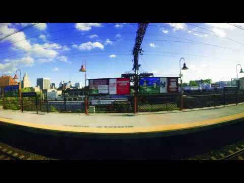 NY Penn Station to Summit NJ Station - GoPro Time Lapse