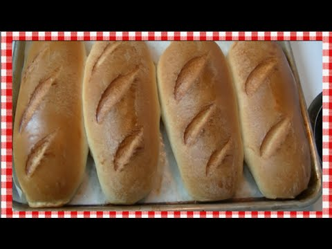 Italian Style Sub Rolls Recipe & Demo ~ Noreen's Kitchen
