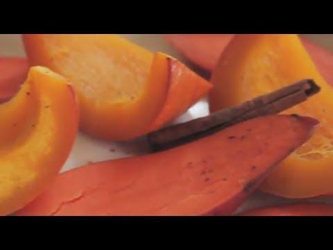 Baby Food | Cinnamon & Nutmeg Roasted Pumpkin and Sweet Potato Puree