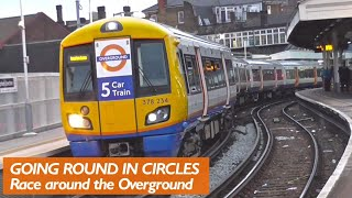 Going round in circles, Overground (Longer Version)