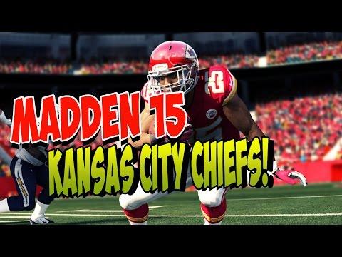 Madden 15 | Kansas City Chiefs Passing Offense | GUN formation | Madden 15 Playbooks