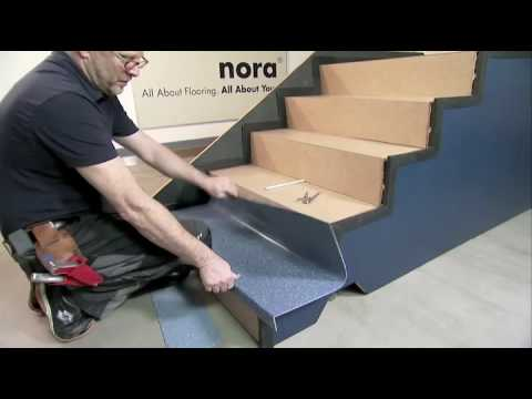norament stairtread cutting