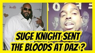 Suge Knight Bloods Got At Daz In Jail ???? [+ Daz Says Sorry]