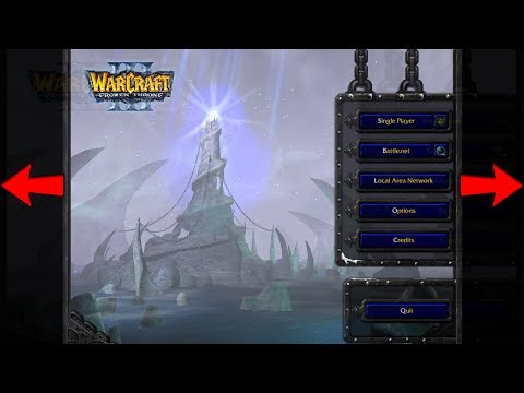 Warcraft 3 - How To FIX Resolution & Aspect Ratio