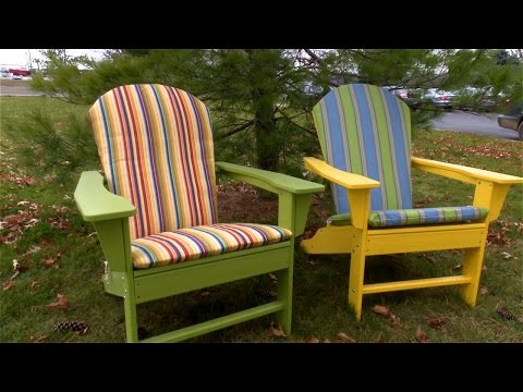 How to Make an Adirondack Chair Cushion